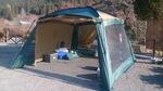 冬ソロキャンプはタープのみ.jpg
